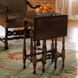 Table noyer william & mary 1